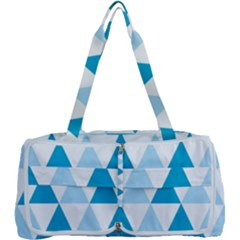 Abstract Modern Background Blue Multi Function Bag