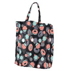 Seamless Sweets Background Giant Grocery Tote