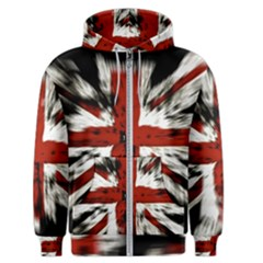 British Flag Men s Zipper Hoodie