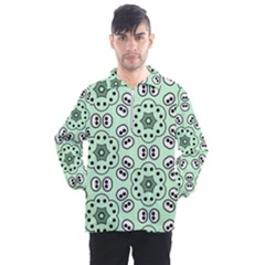 Background Texture Dots Pattern Men s Half Zip Pullover