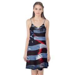 Grunge American Flag Camis Nightgown