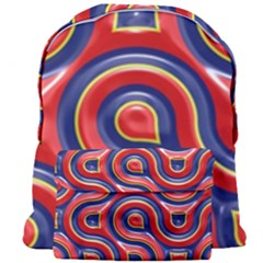 Pattern Curve Design Giant Full Print Backpack