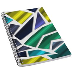 Mosaic Shapes 5 5  X 8 5  Notebook by Vaneshart