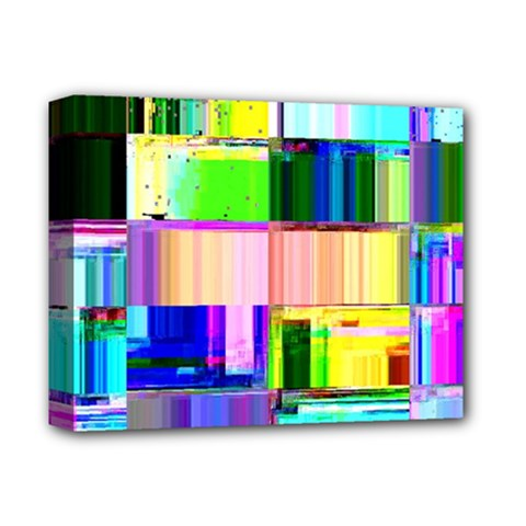 Glitch Art Abstract Deluxe Canvas 14  X 11  (stretched)