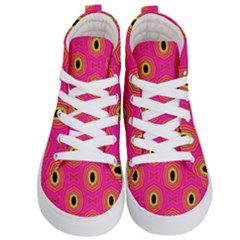 Abstract Clutter Kids  Hi-top Skate Sneakers