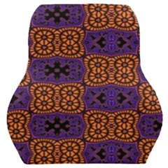 Abstract Clutter Pattern Vintage Car Seat Back Cushion