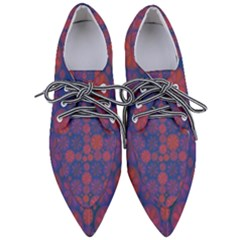 Zappwaits September Women s Pointed Oxford Shoes by zappwaits