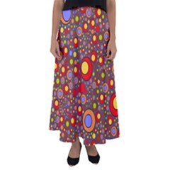 Zappwaits Pop Flared Maxi Skirt