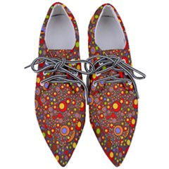 Zappwaits Pop Women s Pointed Oxford Shoes