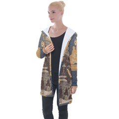 Illustrated Exhibitor Longline Hooded Cardigan by DeneWestUK