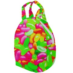Vibrant Jelly Bean Candy Travel Backpacks by essentialimage