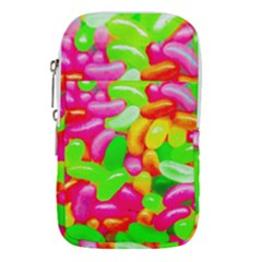 Vibrant Jelly Bean Candy Waist Pouch (large) by essentialimage