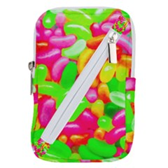 Vibrant Jelly Bean Candy Belt Pouch Bag (small) by essentialimage