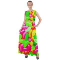 Vibrant Jelly Bean Candy Chiffon Mesh Boho Maxi Dress by essentialimage