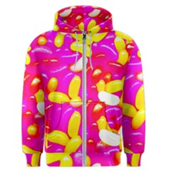 Vibrant Jelly Bean Candy Men s Zipper Hoodie by essentialimage