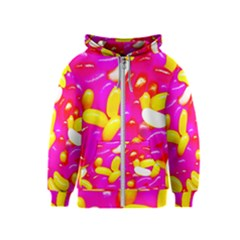 Vibrant Jelly Bean Candy Kids  Zipper Hoodie by essentialimage