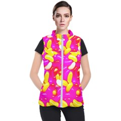 Vibrant Jelly Bean Candy Women s Puffer Vest by essentialimage
