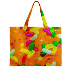 Vibrant Jelly Bean Candy Zipper Mini Tote Bag by essentialimage