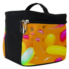 Vibrant Jelly Bean Candy Make Up Travel Bag (small)