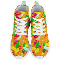 Vibrant Jelly Bean Candy Women s Lightweight High Top Sneakers by essentialimage