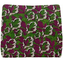 Green Fauna And Leaves In So Decorative Style Seat Cushion by pepitasart