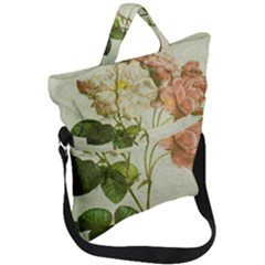 Peony 2507643 1920 Fold Over Handle Tote Bag by vintage2030