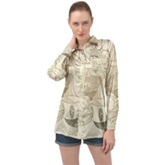 Vintage 979513 1280 Long Sleeve Satin Shirt