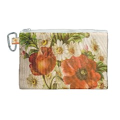 Poppy 2507631 960 720 Canvas Cosmetic Bag (large) by vintage2030