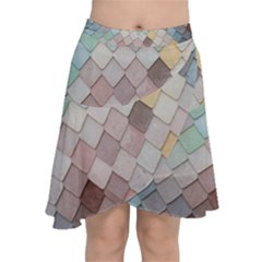 Tiles Shapes 2617112 960 720 Chiffon Wrap Front Skirt by vintage2030