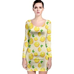 Fruits 1193727 960 720 Long Sleeve Bodycon Dress by vintage2030