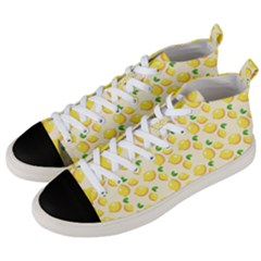Fruits 1193727 960 720 Men s Mid-top Canvas Sneakers by vintage2030