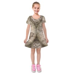 Background 1762690 960 720 Kids  Short Sleeve Velvet Dress by vintage2030