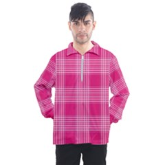 Checks 316856 960 720 Men s Half Zip Pullover by vintage2030