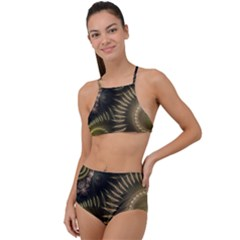 Fractal 2021756 960 720 High Waist Tankini Set by vintage2030