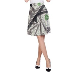 Dollar 499481 960 720 A-line Skirt by vintage2030