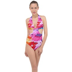 Abstract 2468874 960 720 Halter Front Plunge Swimsuit by vintage2030