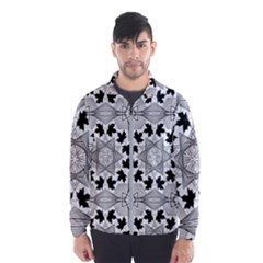 Seamless Pattern With Maple Leaves Men s Windbreaker by Vaneshart