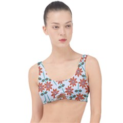 Vector Flower Floral The Little Details Bikini Top
