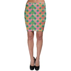 Abstract Seamless Pattern Bodycon Skirt