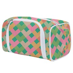 Abstract Seamless Pattern Toiletries Pouch