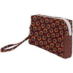 Abstract Seamless Pattern Graphic  Wristlet Pouch Bag (small)