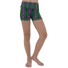 Abstract 38 Kids  Lightweight Velour Yoga Shorts