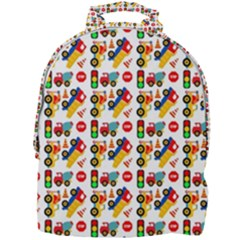 Pattern Patterns Construction Mini Full Print Backpack
