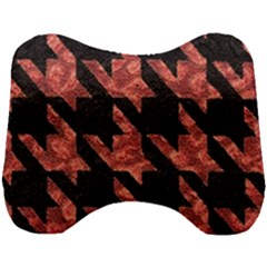 Fabric Pattern Dogstooth Head Support Cushion
