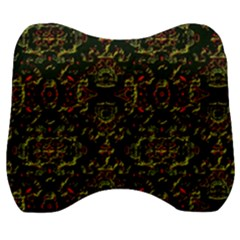 Seamless Pattern Background Velour Head Support Cushion