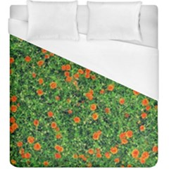 Carnations Flowers Seamless Duvet Cover (king Size)