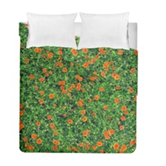 Carnations Flowers Seamless Duvet Cover Double Side (full/ Double Size)