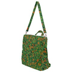 Carnations Flowers Seamless Crossbody Backpack