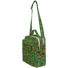 Carnations Flowers Seamless Crossbody Day Bag