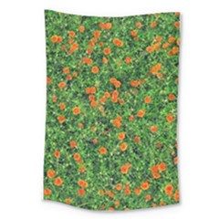 Carnations Flowers Seamless Large Tapestry
